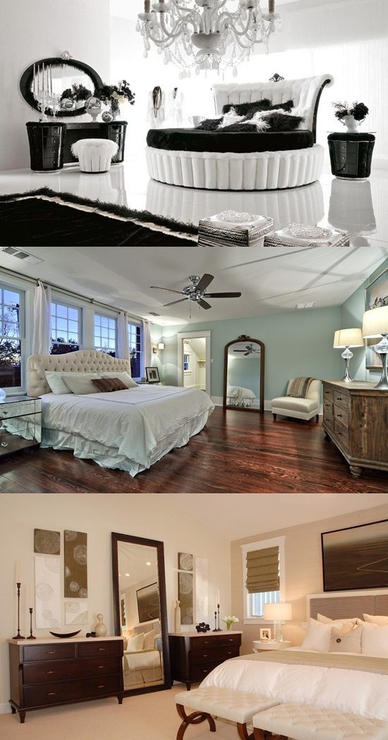 Ideas to Use Mirrored Furniture in the Bedroom