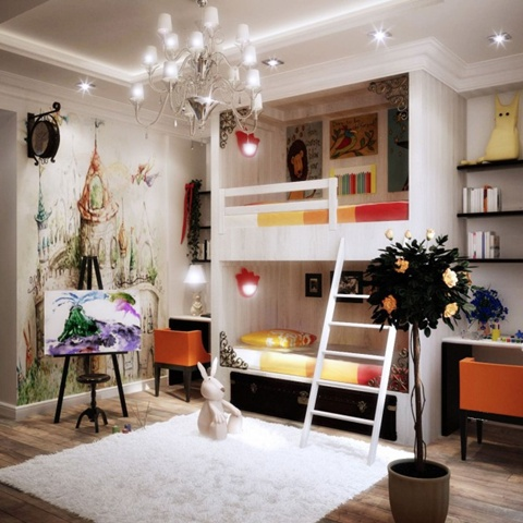 Kids Room Decorating Ideas 16