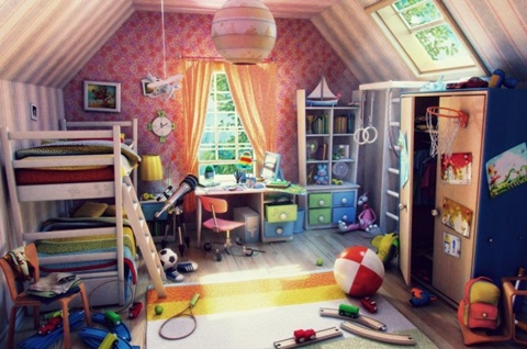 Kids Room Decorating Ideas 3