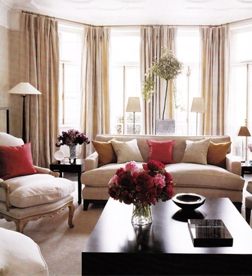 14 Living Room Window Designs Decorating Ideas: Living Room Window Treatment Ideas
