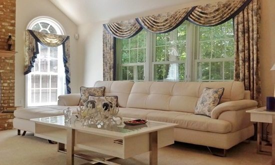 Living room window treatment ideas interior design for Living room picture window ideas