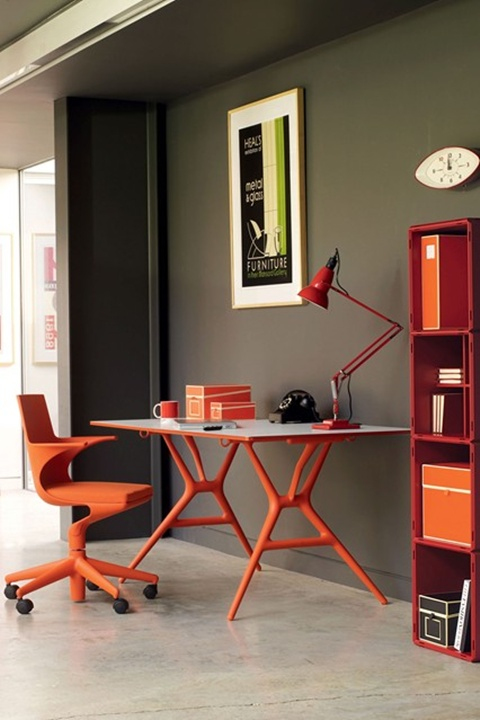 Perfect Home Office Interior Design 10