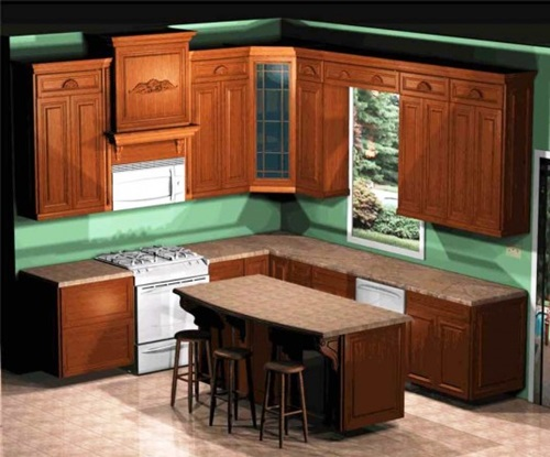 Simple kitchen decorating tips interior design Kitchen cabinetry design software
