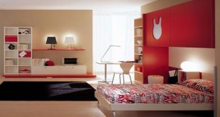 Small Bedroom Color, Lighting and Mirror Ideas