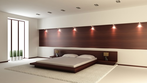 Small Bedroom Color small bedroom color, lighting and mirror ideas - interior design