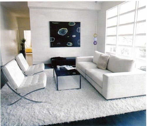 white living room furniture interior design
