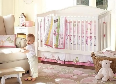 decorating a Baby Girl's Room 1