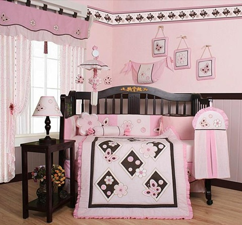 decorating a Baby Girl's Room 14