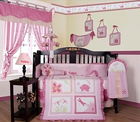 decorating a Baby Girl's Room 3