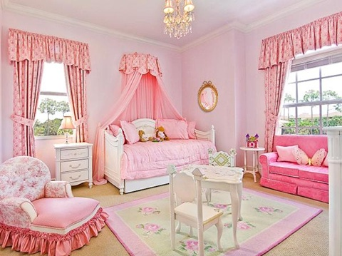 Best tips for decorating a baby girl 39 s room interior design for Baby girl room decoration