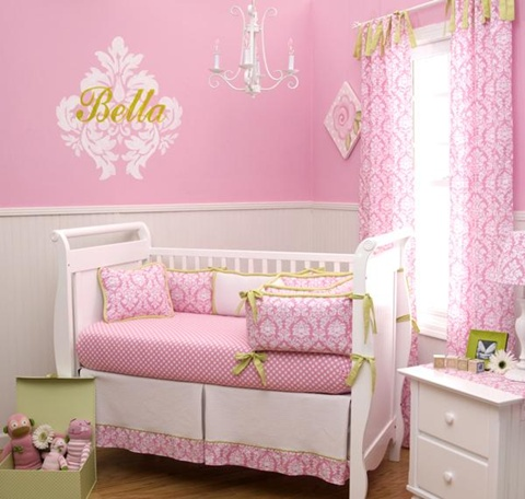 decorating a Baby Girl's Room 7