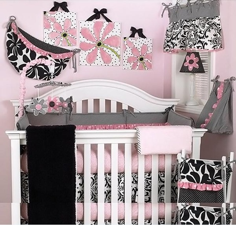 decorating a Baby Girl's Room 8