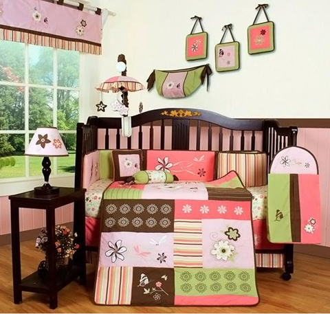 decorating a Baby Girl's Room 9