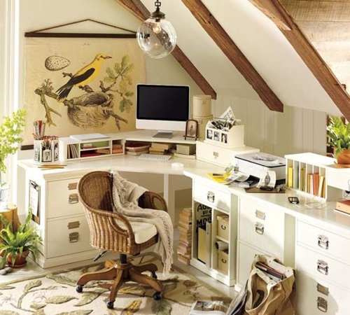 6 Creative Small Home Office Ideas