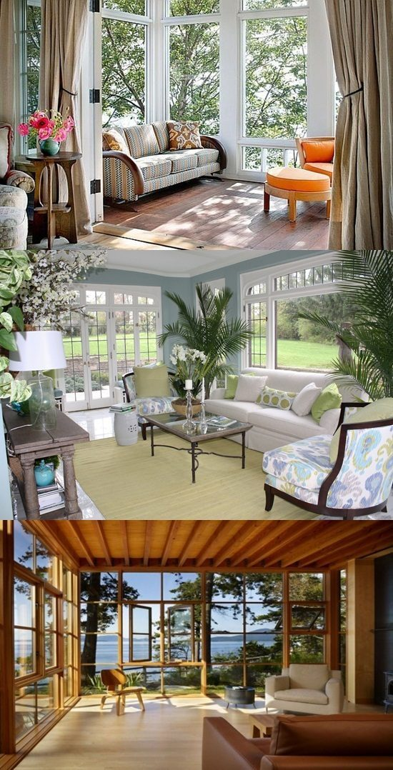 Interior Design Decorating Ideas: Awesome Sunroom Decorating Ideas