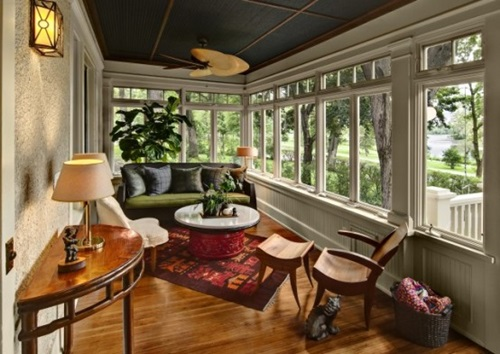 sunroom decor ideas.  Awesome Sunroom Decorating Ideas Interior design