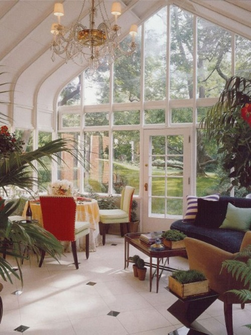 Awesome sunroom decorating ideas interior design for Sunroom garden room