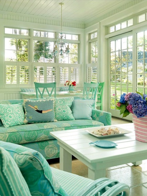 Interior Decorating Ideas Traditional Living Room: Awesome Sunroom Decorating Ideas