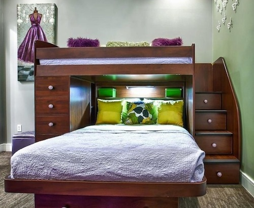 Best bunk beds for kids interior design for Best bed designs images
