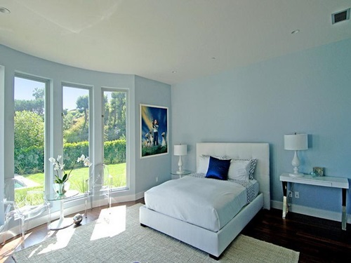 Best relaxing paint colors to use in the bedroom for Interior design bedroom color schemes