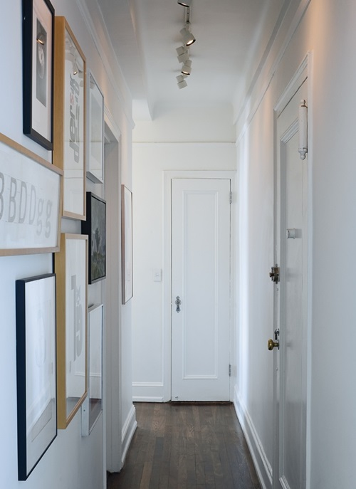 Best decorating ideas for small hallways interior design - Idee deco voorgang gang landing ...