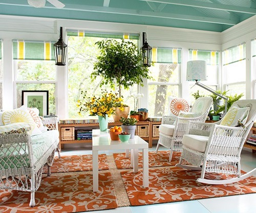 best sunroom design colors ideas - Sunroom Design Ideas Pictures