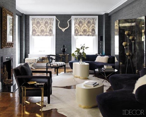 Hollywood glamour into living room