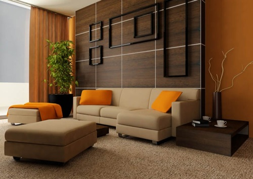 Interior Design Ideas For Living Rooms: Ideas For Decorating A Living Room On A Budget