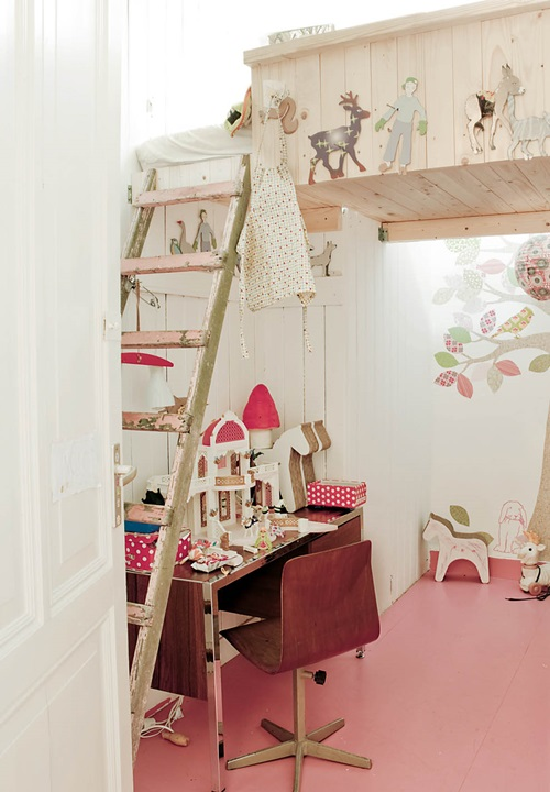 Rustic Girls Room