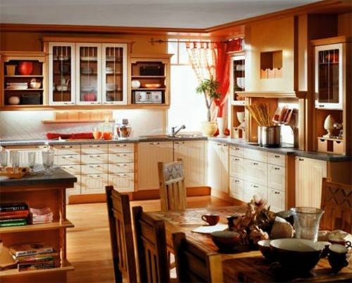 Kitchen wall decorating ideas interior design for Kitchen decor themes