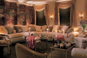 Living Room with Feng Shui concepts