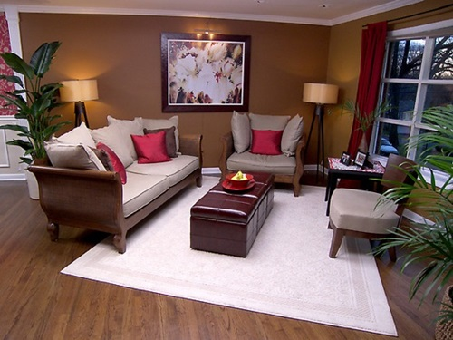Living room with feng shui concepts interior design - Feng shui decoracion ...