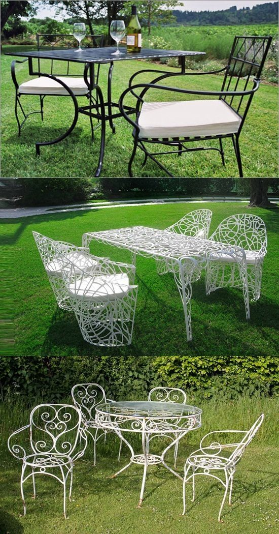 Metal Outdoor Furniture Style