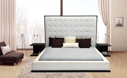 Natural Headboard Designs for a Soft Bedroom Ambience