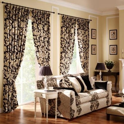Tips For Selecting Living Room Curtains   Interior Design