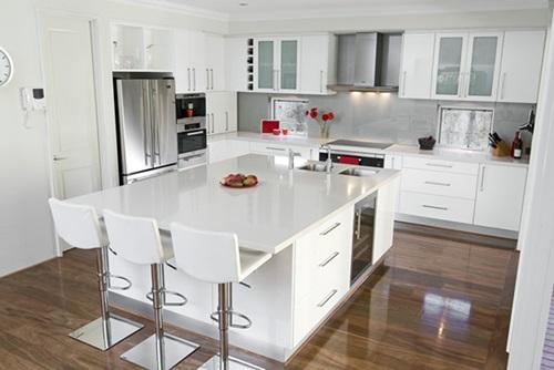 Trendy White Kitchen Designs