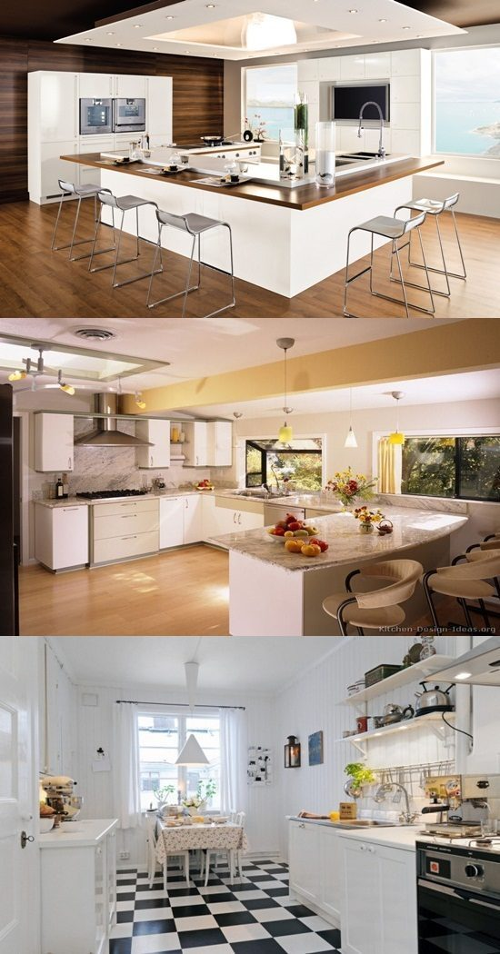 Trendy White Kitchen Designs