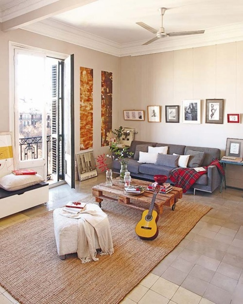 Unique living room decorating ideas interior design for Apartment living decorating ideas