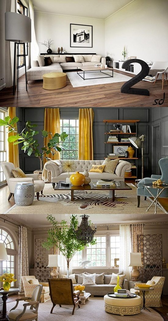Interior Design Ideas For Living Rooms: Unique Living Room Decorating Ideas