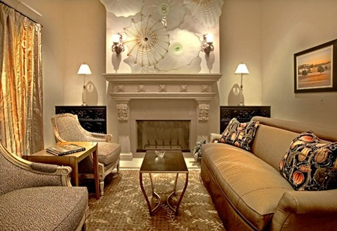 Unique living room decorating ideas interior design for Drawing room decoration images