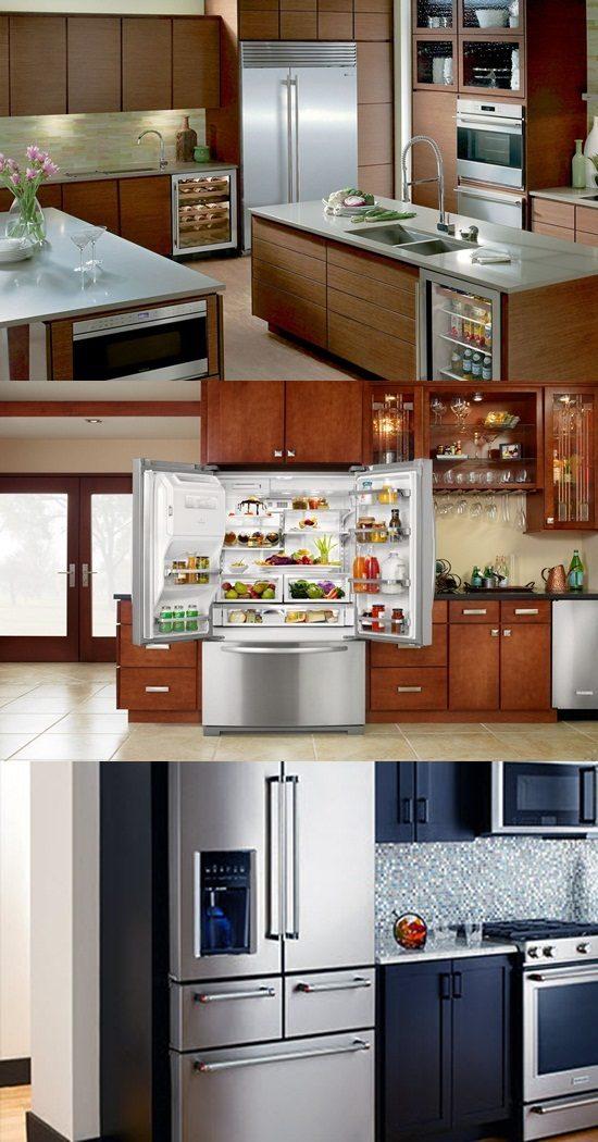 Unique Types Of Refrigerators Interior Design