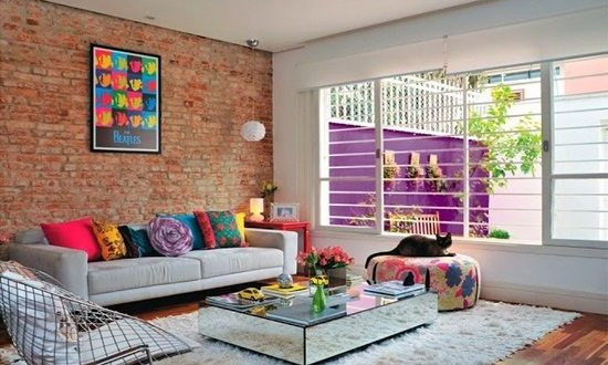 Easy ways to create a vintage-style living room