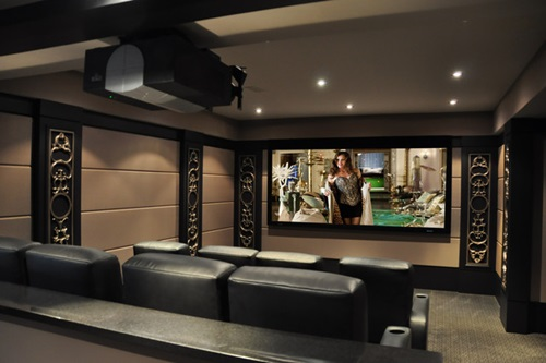 how to create a marvelous media room interior design