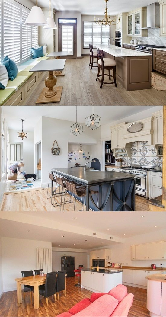 Kitchen Integrated In Livin