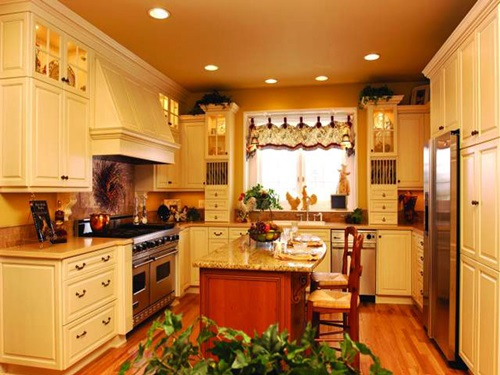 Kitchen remodeling ideas on a budget interior design for Country kitchen designs on a budget