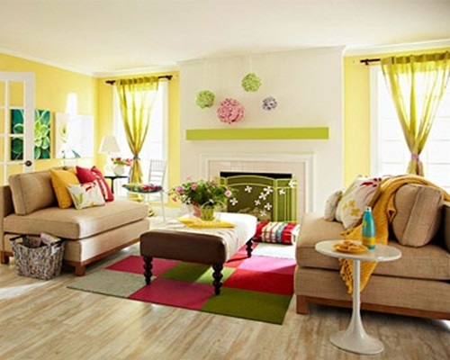 Living room paint colors for 2013 interior design for Simple green living room designs