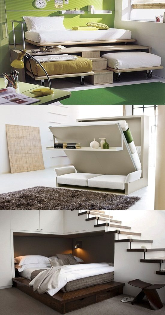 Space saving furniture for small homes interior design Space saving furniture
