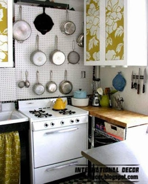 Space saving solutions for small kitchens interior design for Kitchen design solutions