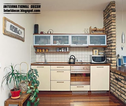 27 Space Saving Design Ideas For Small Kitchens: Space-Saving Solutions For Small Kitchens
