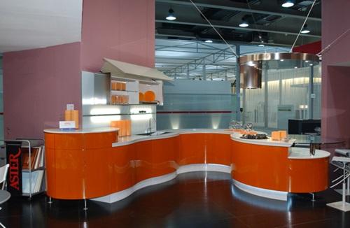 Vibrant Orange Kitchen Decorating Ideas